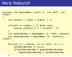 recursive mcss1