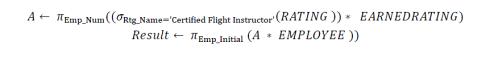 relational algebra 1