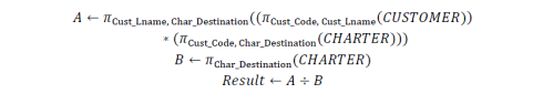 relational algebra 8