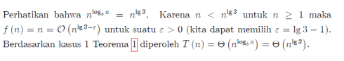 solusi master theorem 1