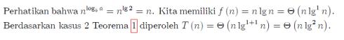 solusi master theorem 4