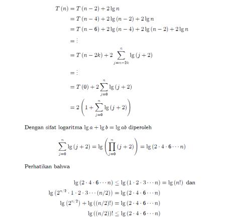 solusi master theorem 9-1